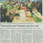 Schulschach Bericht Nahe-Zeitung 15.03.2018